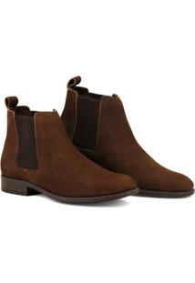cbf5355e6d ... Bota Chelsea Masculina Linha Urban Boots Em Couro Camurça - Masculino -Marrom