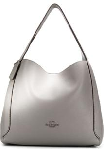 Coach Hadley Hobo Bag - Cinza