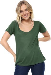 Camiseta Cantão Lisa Verde