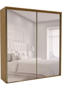 Guarda-Roupa Casal Com Espelho Luminum 2 Pt 3 Gv Álamo