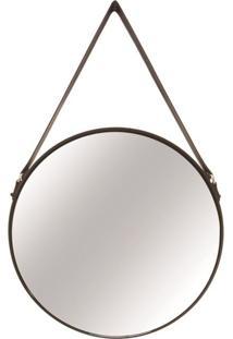 Espelho Mart De Metal Preto