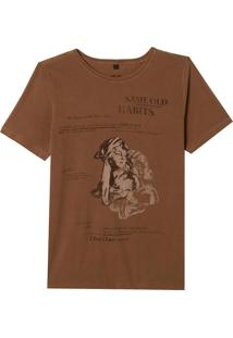 Camiseta John John Rg Statue Masculina (Monks Robe, Pp)