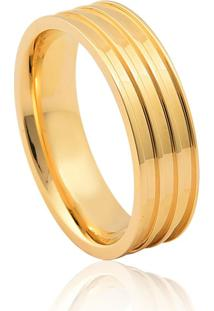 Aliança De Casamento Em Ouro 18K 6,3Mm