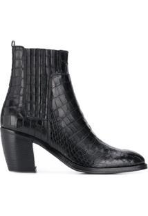 Alberto Fasciani Ankle Boot 'Yara' - Preto