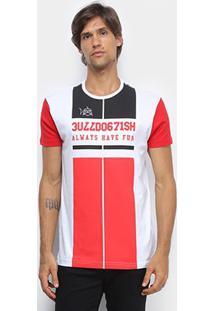 Camiseta Bulldog Fish Varsity Bulldog Masculina - Masculino