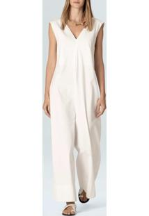 Macacao Cotton Amplo-Offwhite - G