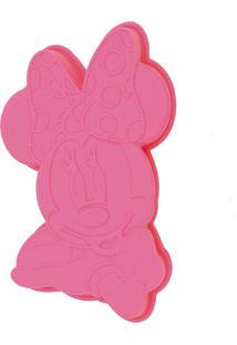 Forma De Silicone Gedex Para Cup Cake Rosa Minnie