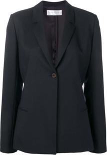 Victoria Victoria Beckham Blazer Com Laço Posterior - Azul