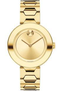 7cd5d10718f Relógio Digital Aco Dourado feminino