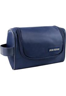 Necessaire De Viagem Jacki Design For Men Azul Marinho - Kanui