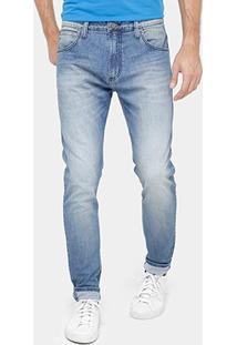 Calça Jeans Skinny Colcci Pedro Indigo Estonada Masculina - Masculino