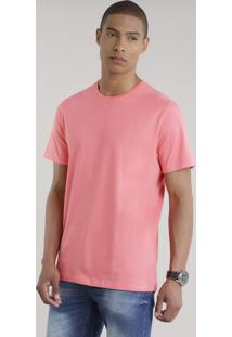 Camiseta Básica Coral