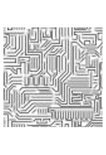 Papel De Parede Adesivo - Circuito Eletrônico - 073Ppd