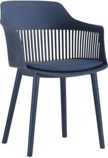Cadeira Marcela Azul Marinho Rivatti - Azul Marinho - Dafiti