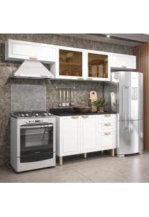 Cozinha Completa 5 Peças Americana Multimóveis 5692 Branco