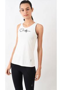 Camiseta Evolution Feminina Básica Coração Branca