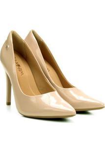 Sapato Ramarim Feminina - Feminino-Nude