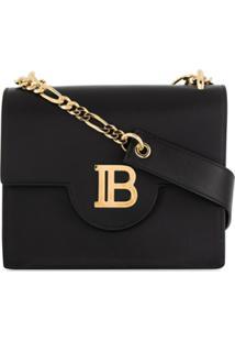 Balmain B-Bag 21 Crossbody Bag - Preto