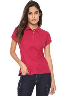 Camisa Polo Aleatory Poás Pink