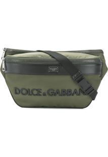 Dolce & Gabbana Pochete Com Logo - Verde