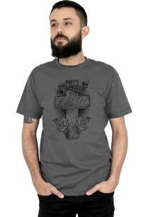 Camiseta Bleed American Faith Chumbo.