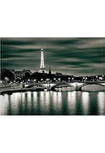 Jogo Americano Decorativo, Criativo E Descolado | Vista Da Ponte Do Rio Sena Em Paris Na França - Tamanho 30 X 40 Cm