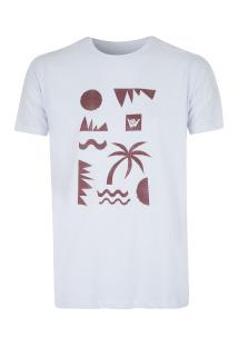 Camiseta Hang Loose Cliffs - Masculina - Branco