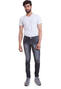 Calça Jeans Versani Lavagem Preta