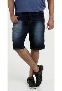 Bermuda Plus Size Jeans Masculina Biotipo