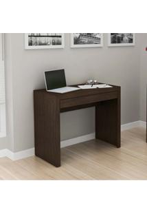Mesa Para Computador Com 1 Gaveta Me4107 - Tecno Mobili - Tabaco