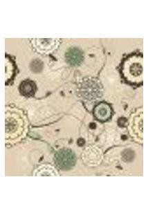 Papel De Parede Autocolante Rolo 0,58 X 3M - Floral 661