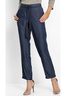 Calça Jeans Comfort Azul Escuro