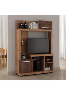 Estante Para Tv Até 42 Polegadas Areal 2 Portas E Terracota E Castanho