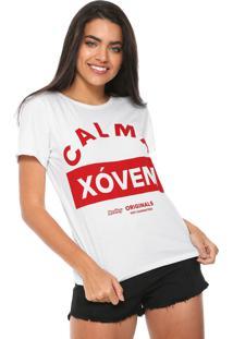 Camiseta Redley Calma Xóven Branca