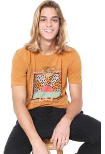 Camiseta Redley 80S Amarela