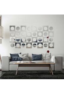 Espelho Decorativo Kit Retro