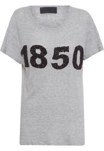 Camiseta Feminina Live - Cinza