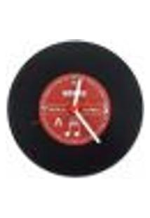 Relógio De Parede Retro Vintage Modelo Disco Vinil