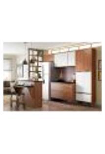 Cozinha Completa Calábria I 13 Pt 3 Gv Nogueira E Branca