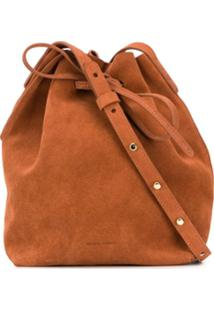 Mansur Gavriel Mini Bucket Bag - Marrom
