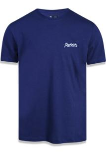 Camiseta New Era Fraldada New England Patriots Marinho