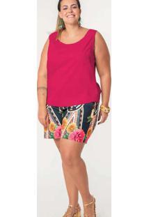 Regata Lisa Almaria Plus Size Munny Fenda Posterio
