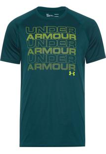 Camiseta Masculina Keep Staking - Verde