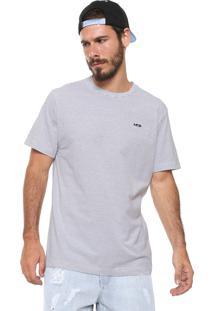 Camiseta Mcd Listrada Branca/Preta