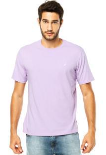 Camiseta Nautica Clean Roxa