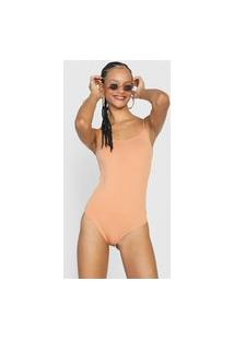Body Forever 21 Liso Bege