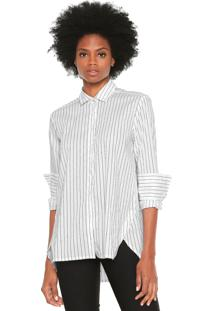 Camisa Colcci Listrada Branca