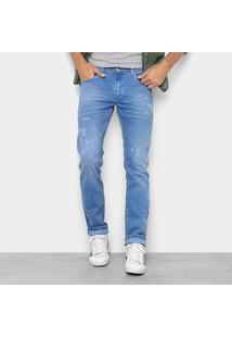 Calça Jeans Preston Slim Vintage Masculina - Masculino