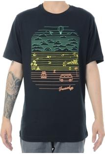 Camiseta Freesurf Beach - Masculino