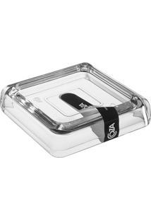 Saboneteira Cube Transparente